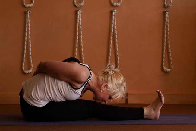 The action of the feet in Iyengar Yoga