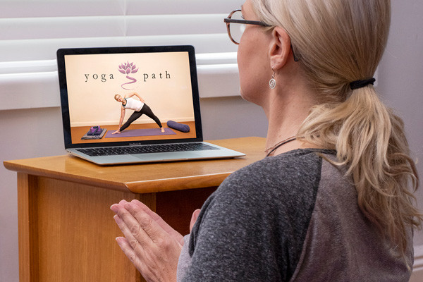 Streamed yoga classes are about community